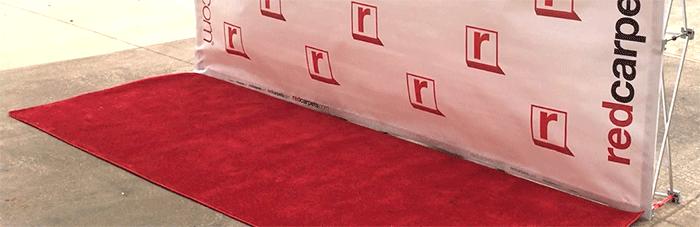 Vinyl 90x120 4x10 Red Carpet