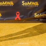 #SoMWAGalaFundraiser2017 > 90 x 120 VInyl PopUp #GoldCarpet