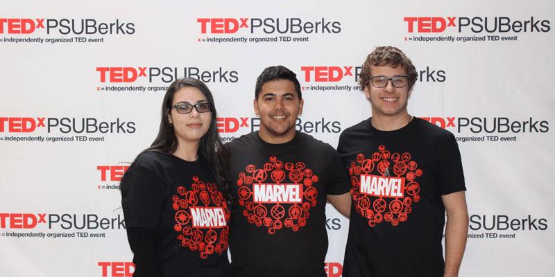 TEDxPSUBerks 2018 > Red Carpet Step Repeat