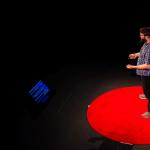 TEDxPSUBerks 2018 > Red Round Circle Carpet